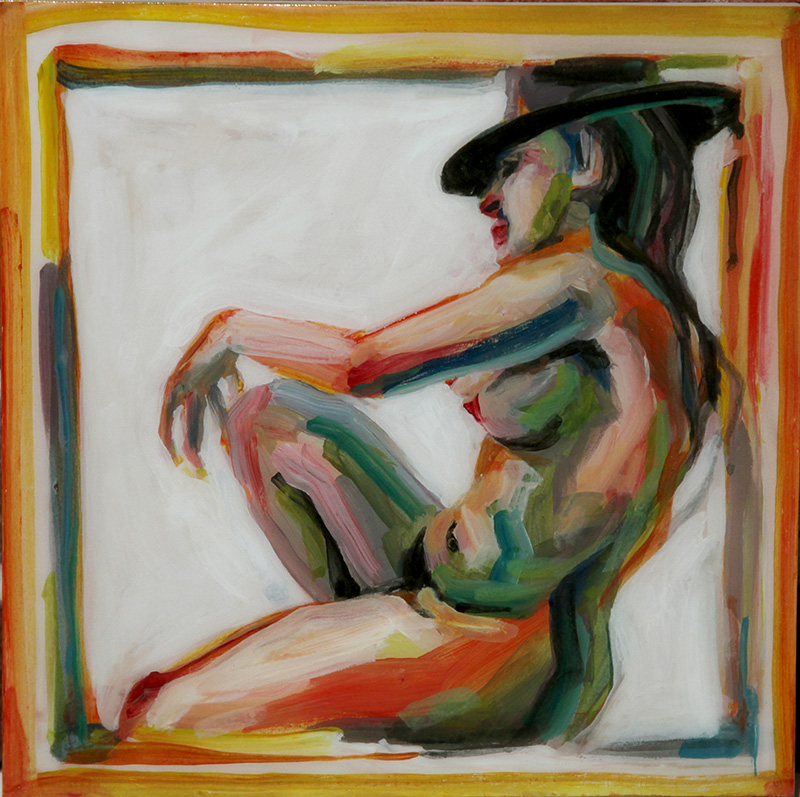 Nude with Hat