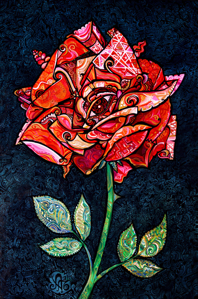 Dreaming a Rose