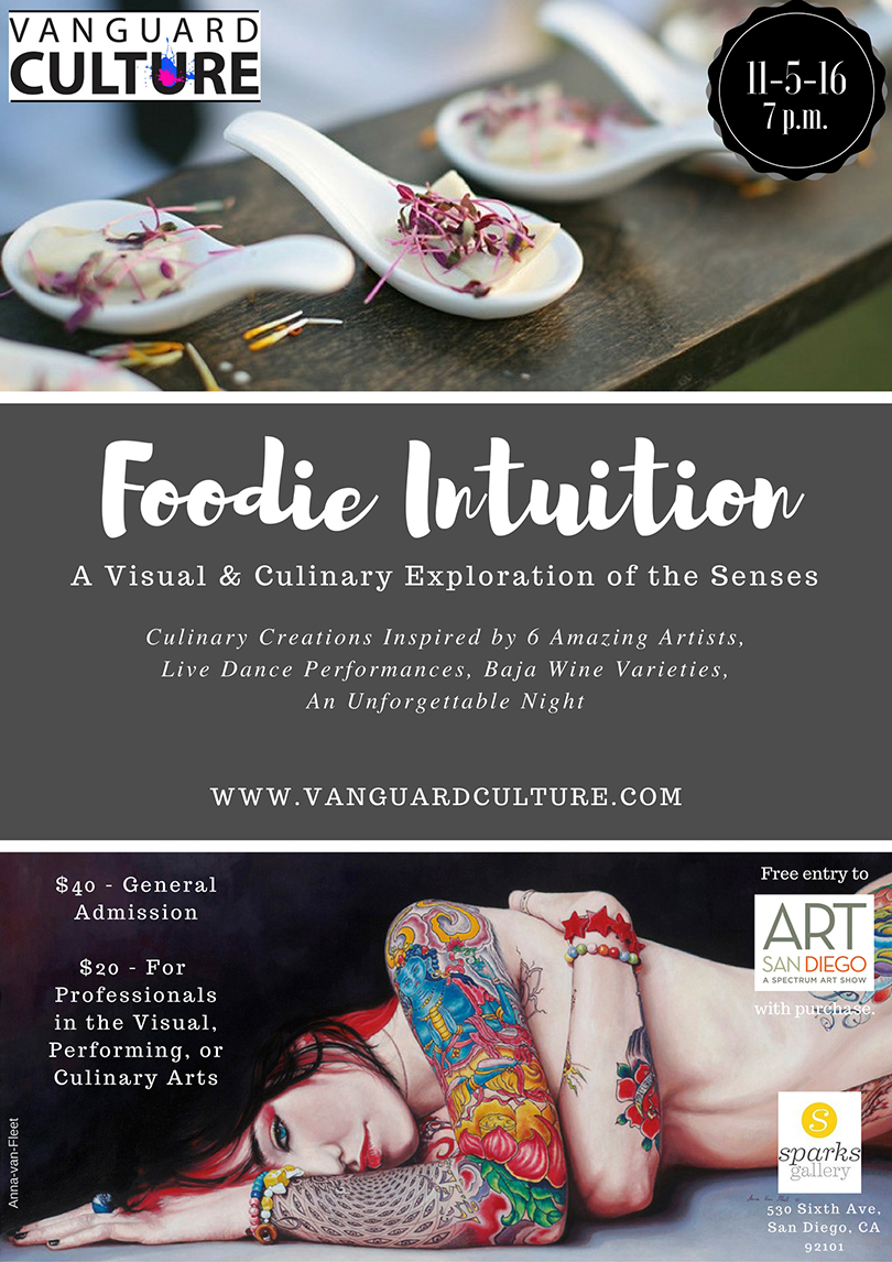 Foodie Intuition: A Visual & Culinary Exploration of the Senses