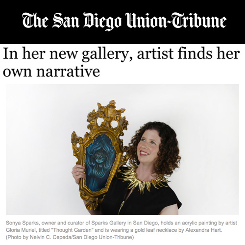 In her new gallery, artist finds her own narrative