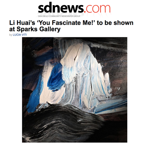 Li Huai's You Fascinate Me to be shown at Sparks Gallery