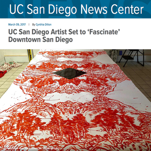 UCSD Artist Set to 'Fascinate' Downtown San Diego