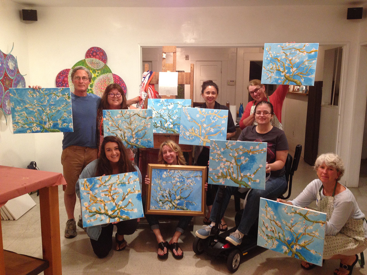 Wine & Paint with Artists Hill&Stump