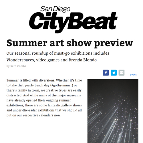 City Beat Preview of Minis Exhibition
