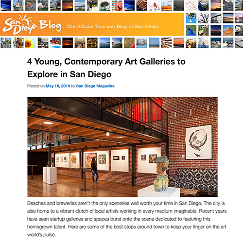 4 Young, Contemporary Art Galleries to Explore in San Diego