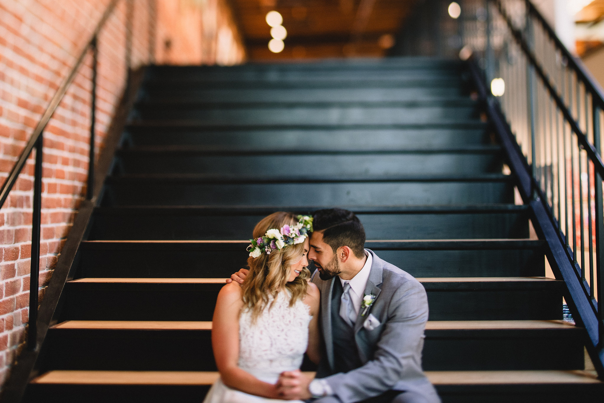 Styled Shoot: Bride and Groom at Sparks Gallery
