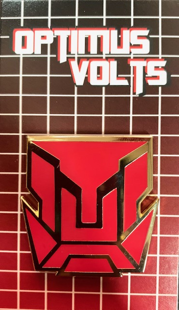 Limited Edition Optimus Volts Pin