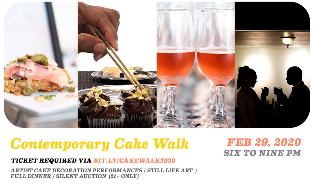 Contemporary Cake Walk / Sparks Gallery 5 Year Anniversary